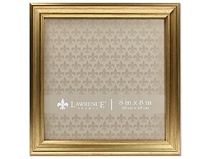 Lawrence Sutter Burnished Gold Frame For 8x8