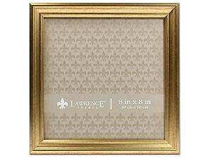 Lawrence Sutter Burnished Gold Frame For 8x8