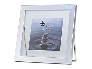 Lawrence 4x4 Braden Silver Glass Float Frame