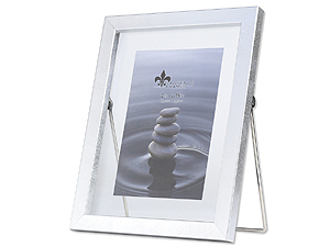 Lawrence 4x6 Braden Silver Glass Float Frame