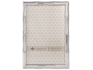 Lawrence Silver Metal Bamboo Frame For 4x6