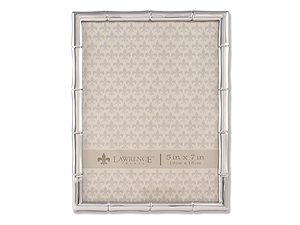 Lawrence Silver Metal Bamboo Frame For 5x7