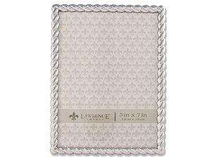 Lawrence Silver Metal Rope Frame For 5x7