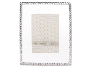 Lawrence Silver Metal Rope Frame For 5x7 Or 8x10