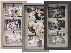 Lawrence Triple 6x4 Soho Shadow Box Clip Frame