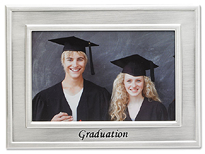 Lawrence Silver Graduation Picture Frame For 4x6