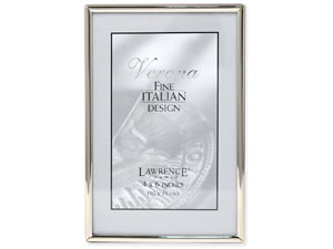 Lawrence Simply Silver Metal Frame For 4x6