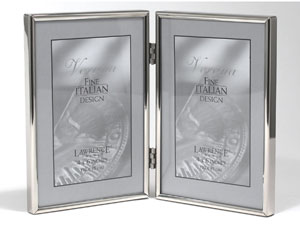 Lawrence Simply Silver Metal Double Frame For 4x6