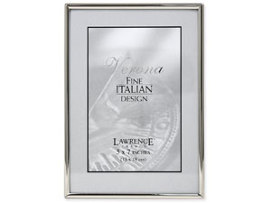Lawrence Simply Silver Metal Frame For 5x7