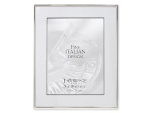 Lawrence Simply Silver Metal Frame For 8x10