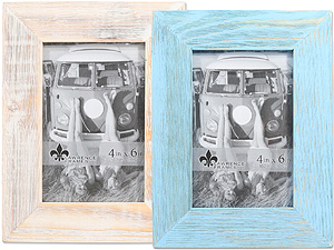Lawrence 4x6 Sarasota Weathered Wood Frame