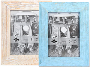 Lawrence 5x7 Sarasota Weathered Wood Frame