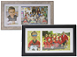 Lawrence 3.5x5 & 5x7 Double Opening Team/School Frame