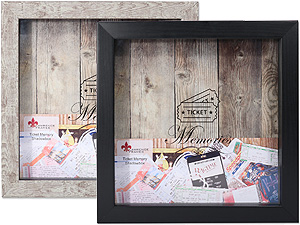 Lawrence 10x10 Ticket Stub Holder Shadow Box Frame