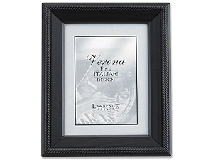 Lawrence 4x5 Tuxedo Wood Picture Frame
