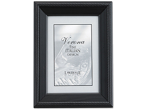 Lawrence 5x7 Tuxedo Wood Picture Frame