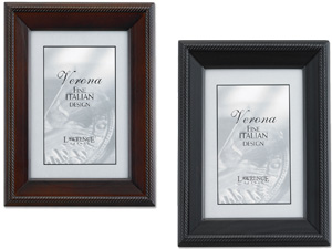 Lawrence 4x6 Tuxedo Wood Picture Frame