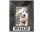 Lawrence 4x6 Woof Antique Black Wood Frame
