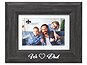 Lawrence We Love Dad Picture Frame with Mat - Willow Black