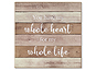 Lawrence 11x11 Whole Heart Wood Wall Panel Sign
