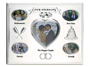 Lawrence Silver Plated Our Wedding Frame