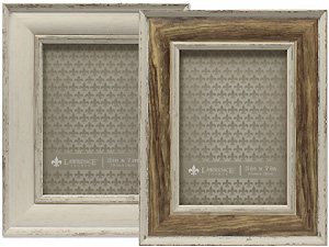 Lawrence 5x7 Weathered Domed Top Frame