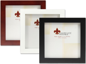 Lawrence 4x4 Square Wood Picture Frame