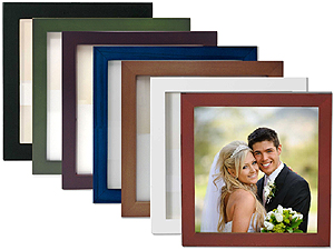 Lawrence 5x5 Square Wood Picture Frame