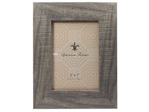 Lawrence Weathered Gray Halloway Frame For 5x7