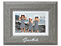 Lawrence Grandkids Picture Frame with Mat - Willow Gray