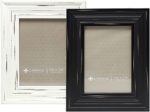 Lawrence 5x7 Weathered Richmond Picture Frame