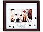 Lawrence Walnut Shadow Box Dog Photo Frame For 4x6