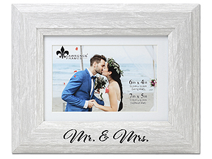 Lawrence Mr. and Mrs. Frame with Mat - Willow White Birch