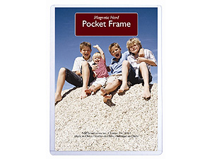 MCS Hard Magnetic Pocket Frame 2.5x3.5