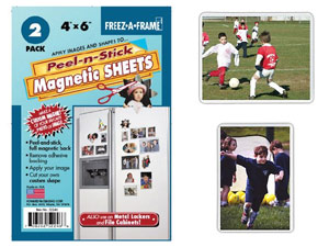 Flexible Magnetic Photo Pockets - 4x6 (2 Pack)