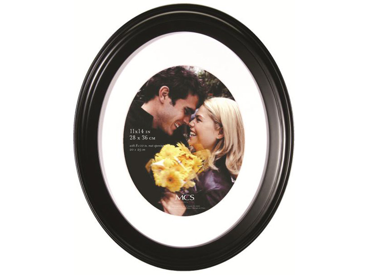Mcs Oval Portrait Frame 11x14 With 8x10 Mat Opening