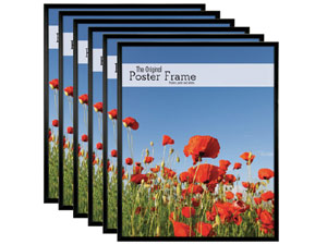 MCS 24x36 Poster Frames - Masonite (Pack of 6)