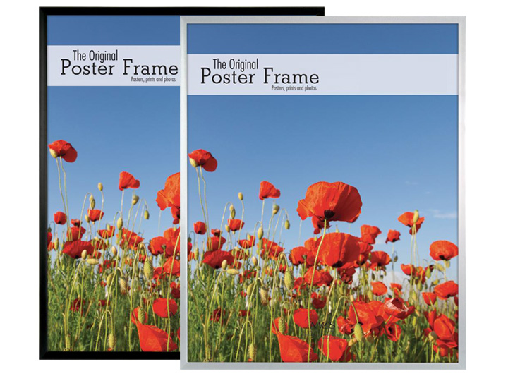 Mcs 18x24 Poster Picture Frames Silver