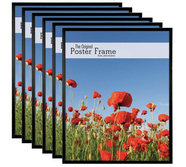 mcs 20x24 poster frame masonite pack of 6
