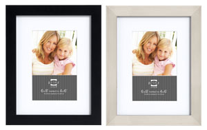 Prinz Gallery Expressions Picture Frame 6x8 For 4x6
