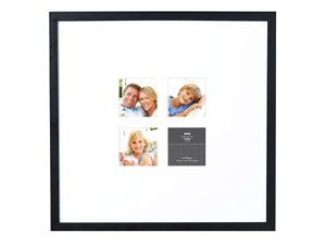 Prinz Gallery Expressions Frame Matted For Four 4x4