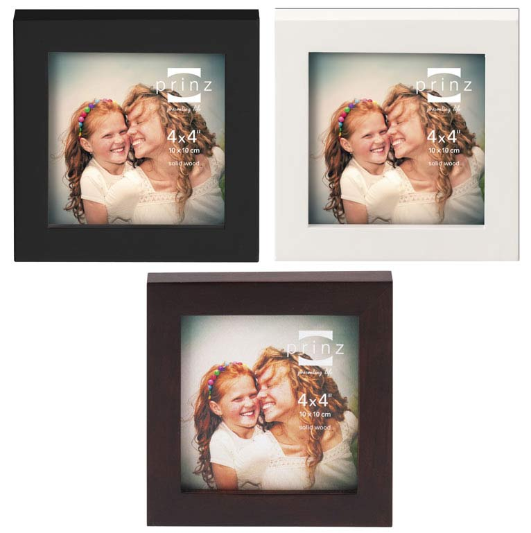4x4 4x5 picture frames prinz mercer 4x4 wood picture frame