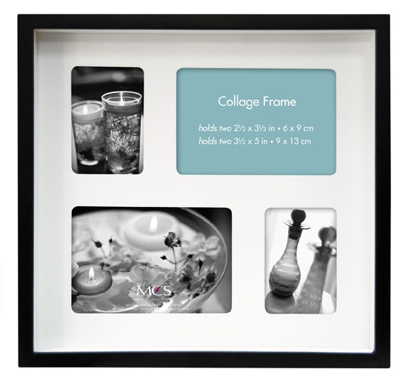 Mcs 10x9 Shadow Box Collage Frame 4 Openings