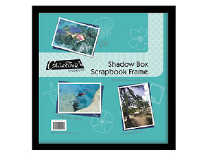 MCS Scrapbook Shadow Box Frame 8x8