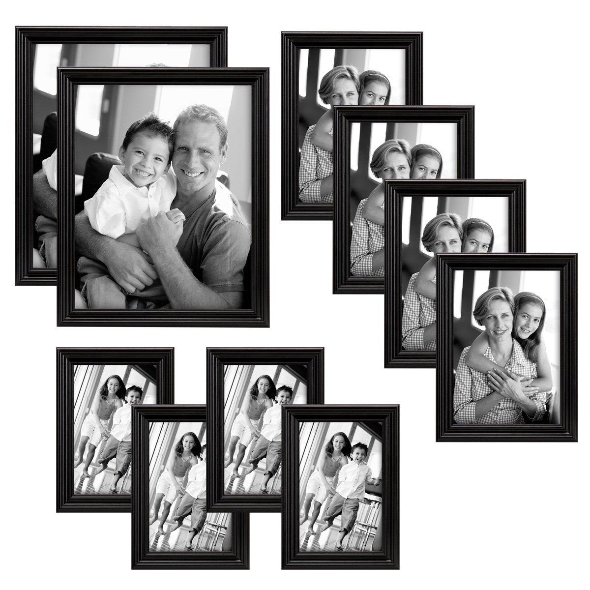 MCS Solid Wood Value 10 Frame Set Black