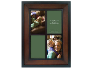 MCS Two Tone Wood Picture Frame For Four 4x6