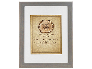 MCS 11x14 Walden Woods Retreat Weathered Gray Frame For 8x10