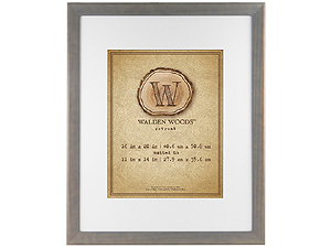 MCS 16x20 Walden Woods Retreat Weathered Gray Frame For 11x14