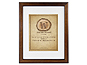 MCS 11x14 Walden Woods Retreat Walnut Frame For 8x10