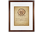 MCS 16x20 Walden Woods Retreat Walnut Frame For 11x14
